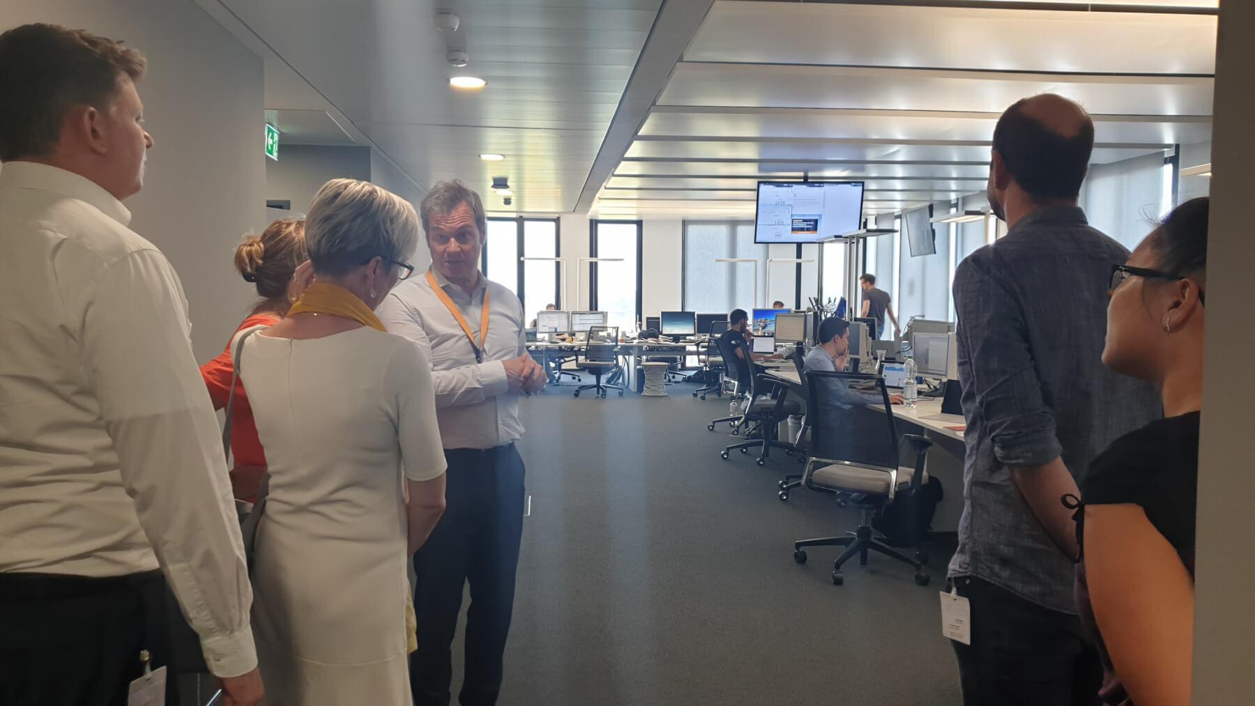 Newsroom des Handelsblattes