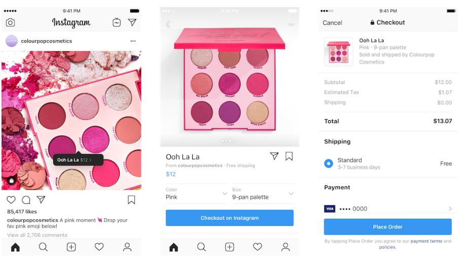InApp-Checkout-auf-Instagram